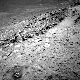 Nasa's Mars rover Curiosity acquired this image using its Right Navigation Camera on Sol 1042, at drive 2052, site number 48