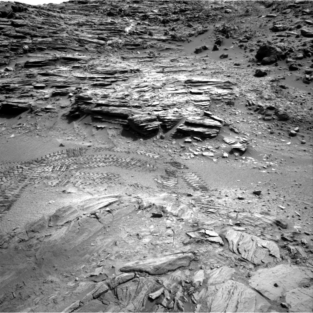 Nasa's Mars rover Curiosity acquired this image using its Right Navigation Camera on Sol 1042, at drive 2122, site number 48