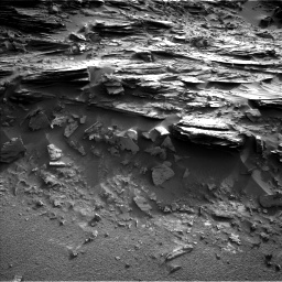 Nasa's Mars rover Curiosity acquired this image using its Left Navigation Camera on Sol 1044, at drive 2194, site number 48