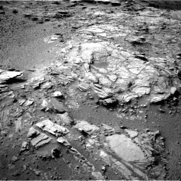 Nasa's Mars rover Curiosity acquired this image using its Right Navigation Camera on Sol 1044, at drive 2134, site number 48