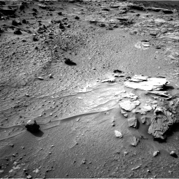 Nasa's Mars rover Curiosity acquired this image using its Right Navigation Camera on Sol 1044, at drive 2152, site number 48