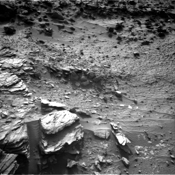 Nasa's Mars rover Curiosity acquired this image using its Right Navigation Camera on Sol 1044, at drive 2164, site number 48