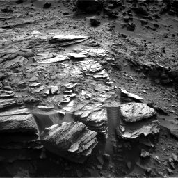 Nasa's Mars rover Curiosity acquired this image using its Right Navigation Camera on Sol 1044, at drive 2170, site number 48