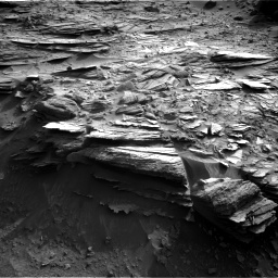 Nasa's Mars rover Curiosity acquired this image using its Right Navigation Camera on Sol 1044, at drive 2176, site number 48