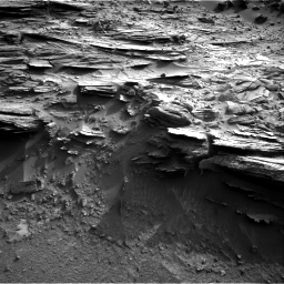 Nasa's Mars rover Curiosity acquired this image using its Right Navigation Camera on Sol 1044, at drive 2182, site number 48