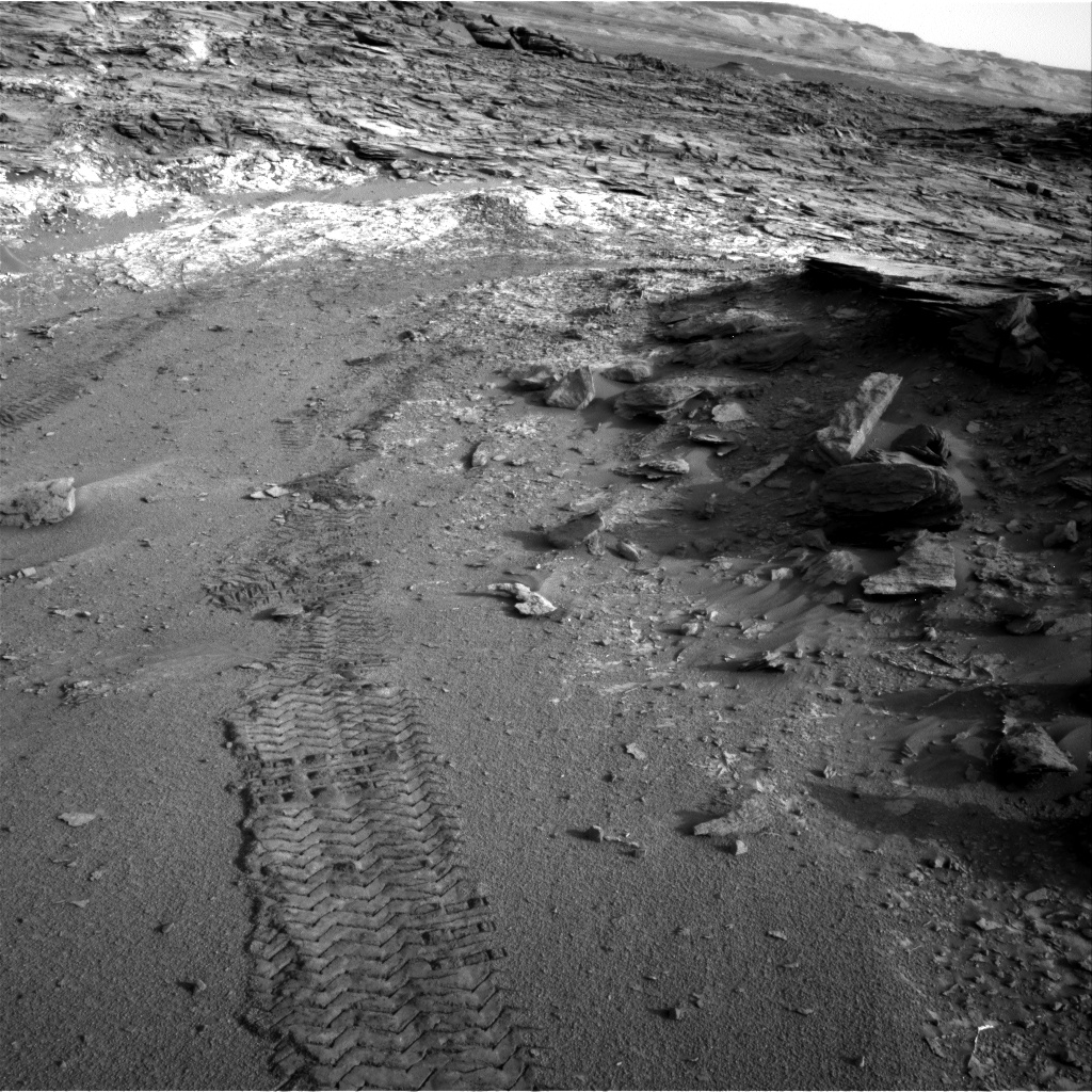 Nasa's Mars rover Curiosity acquired this image using its Right Navigation Camera on Sol 1044, at drive 2200, site number 48