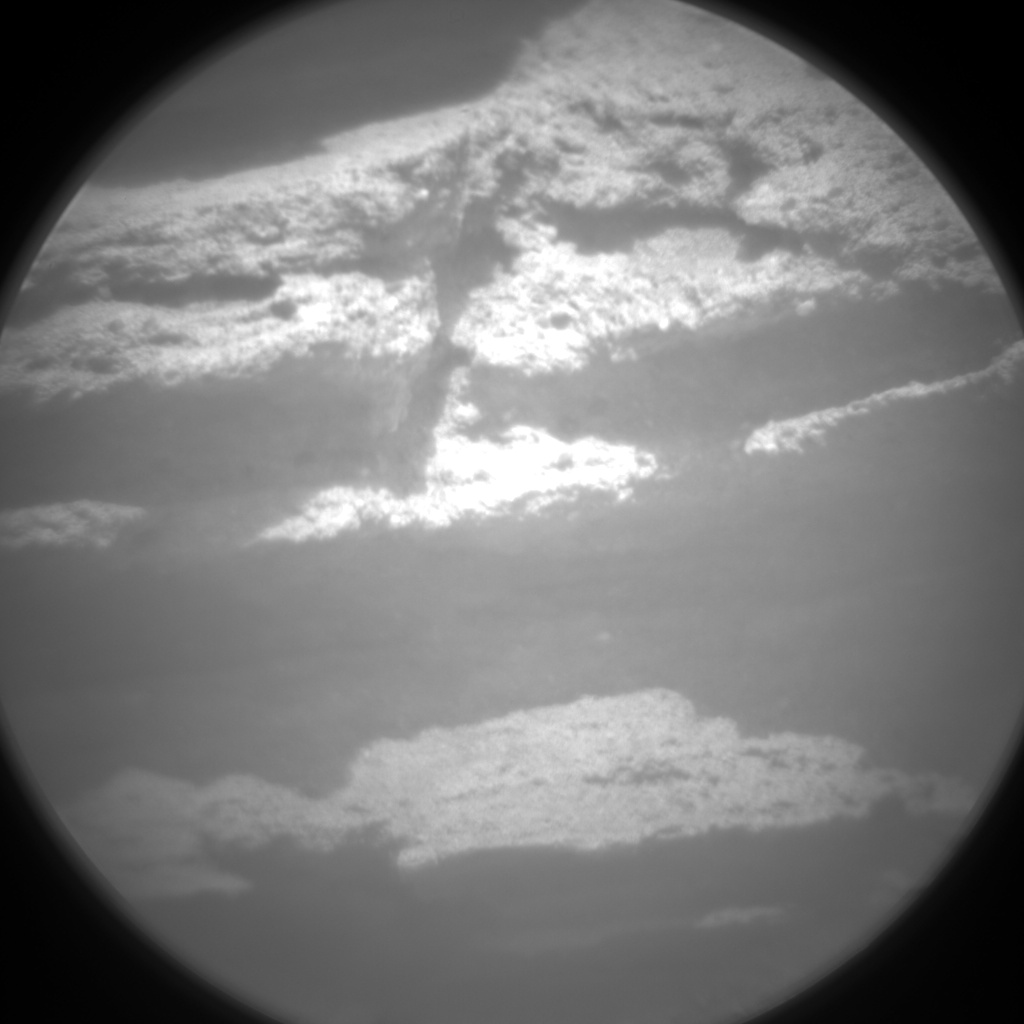 Nasa's Mars rover Curiosity acquired this image using its Chemistry & Camera (ChemCam) on Sol 1046, at drive 2200, site number 48
