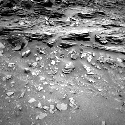 Nasa's Mars rover Curiosity acquired this image using its Left Navigation Camera on Sol 1046, at drive 2206, site number 48
