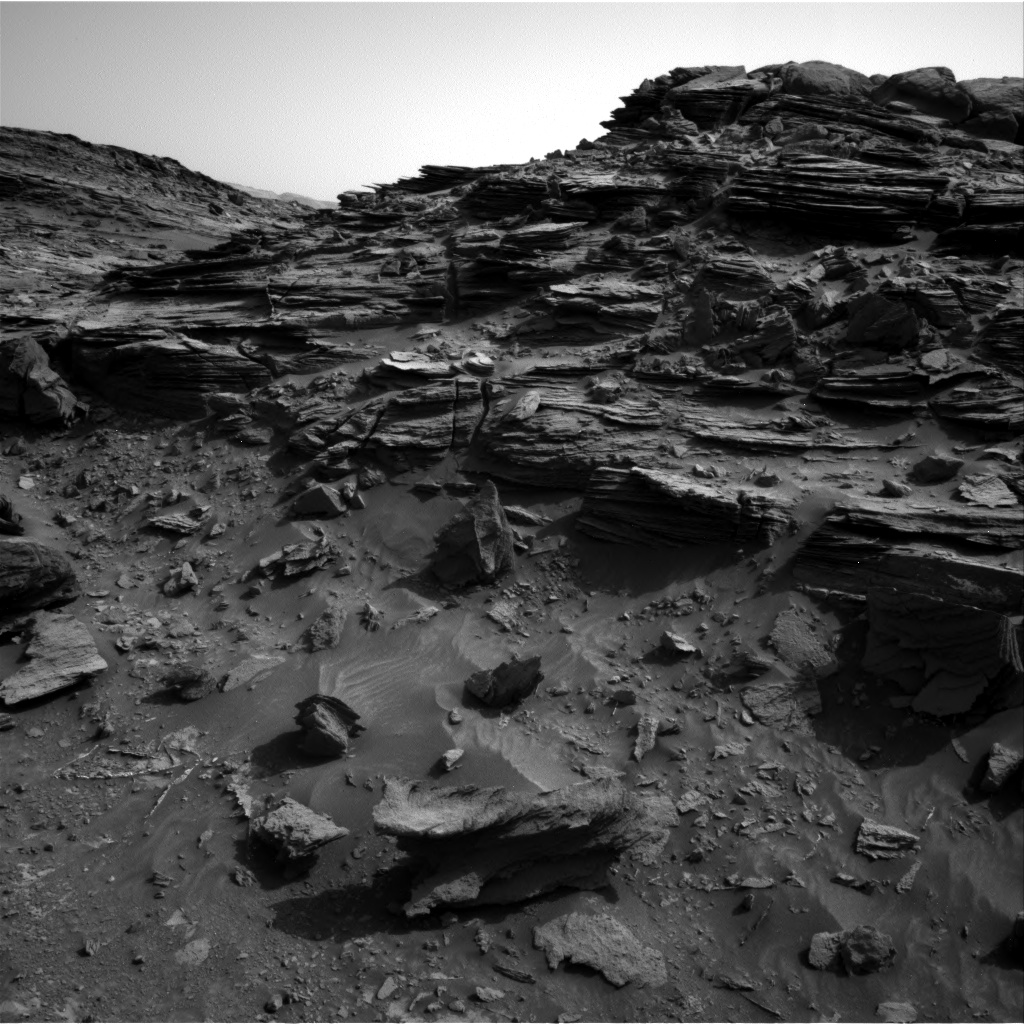 Nasa's Mars rover Curiosity acquired this image using its Right Navigation Camera on Sol 1046, at drive 2224, site number 48