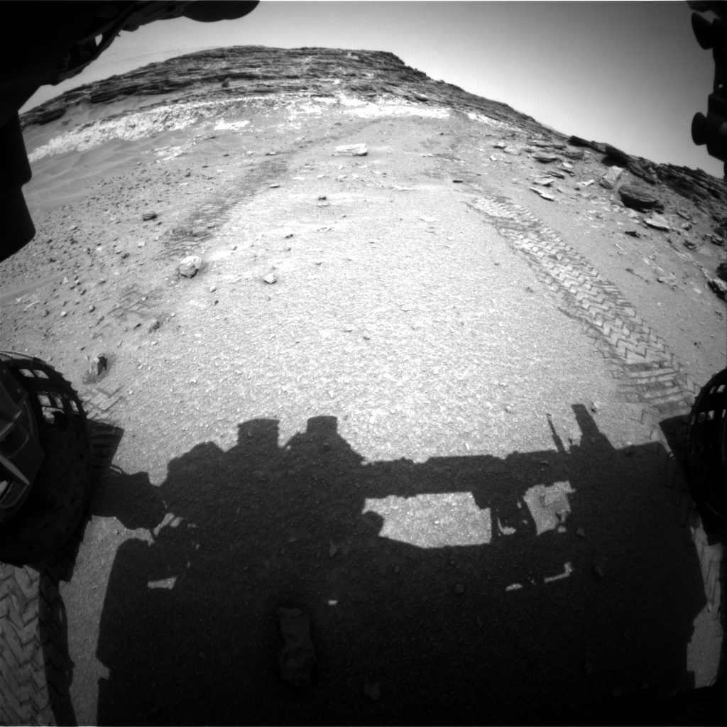 Nasa's Mars rover Curiosity acquired this image using its Front Hazard Avoidance Camera (Front Hazcam) on Sol 1048, at drive 2224, site number 48