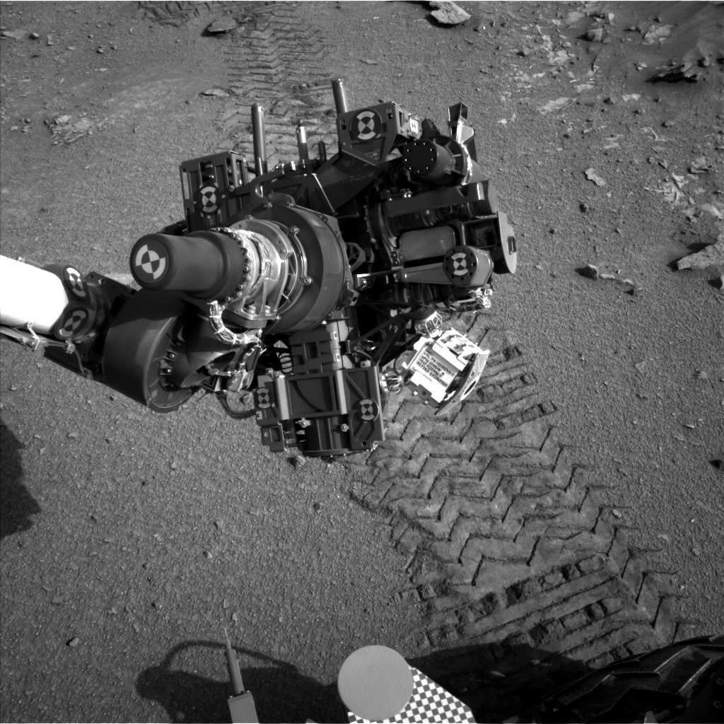 Nasa's Mars rover Curiosity acquired this image using its Left Navigation Camera on Sol 1048, at drive 2224, site number 48