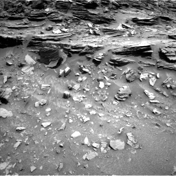 Nasa's Mars rover Curiosity acquired this image using its Left Navigation Camera on Sol 1049, at drive 2230, site number 48
