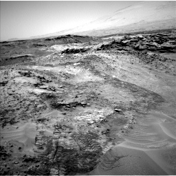 Nasa's Mars rover Curiosity acquired this image using its Left Navigation Camera on Sol 1049, at drive 2296, site number 48