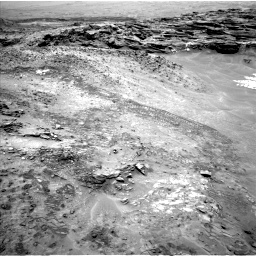 Nasa's Mars rover Curiosity acquired this image using its Left Navigation Camera on Sol 1049, at drive 2314, site number 48