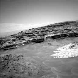 Nasa's Mars rover Curiosity acquired this image using its Left Navigation Camera on Sol 1049, at drive 2386, site number 48