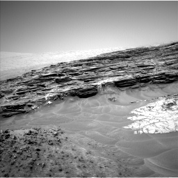 Nasa's Mars rover Curiosity acquired this image using its Left Navigation Camera on Sol 1049, at drive 2404, site number 48