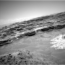 Nasa's Mars rover Curiosity acquired this image using its Left Navigation Camera on Sol 1049, at drive 2416, site number 48