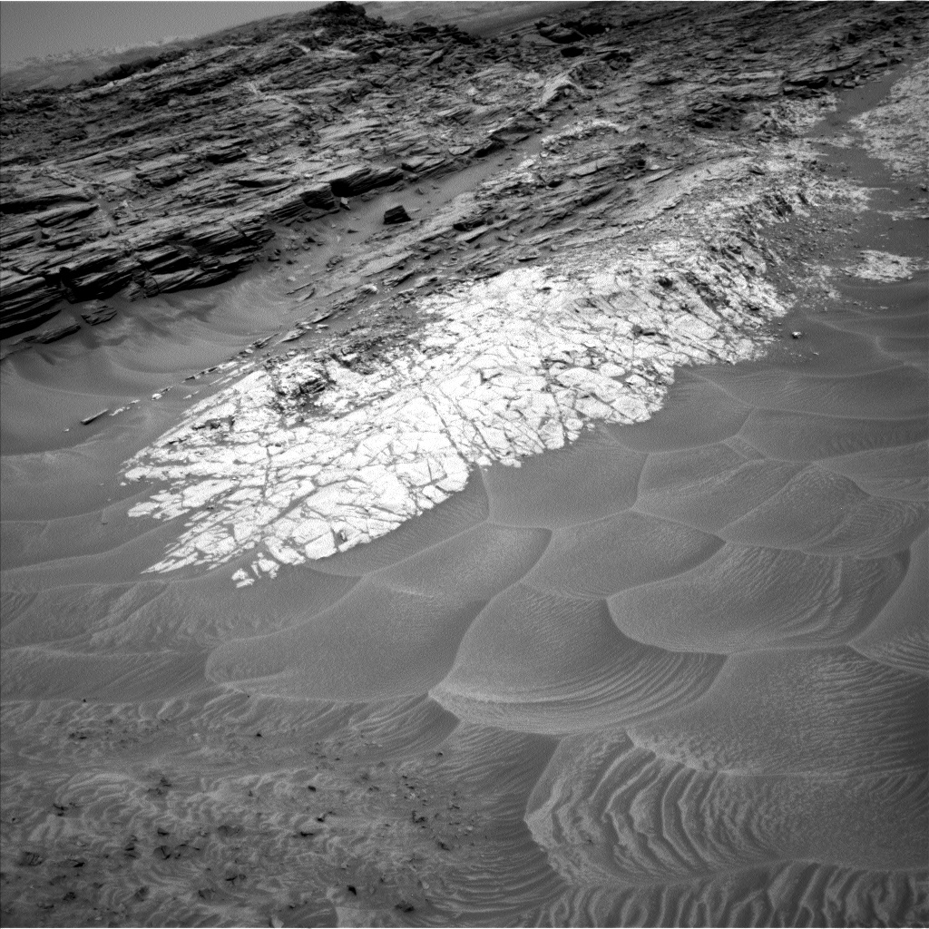Nasa's Mars rover Curiosity acquired this image using its Left Navigation Camera on Sol 1049, at drive 2422, site number 48