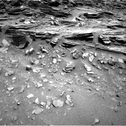 Nasa's Mars rover Curiosity acquired this image using its Right Navigation Camera on Sol 1049, at drive 2230, site number 48