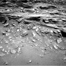 Nasa's Mars rover Curiosity acquired this image using its Right Navigation Camera on Sol 1049, at drive 2236, site number 48