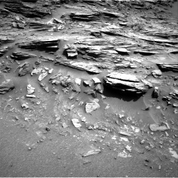 Nasa's Mars rover Curiosity acquired this image using its Right Navigation Camera on Sol 1049, at drive 2242, site number 48