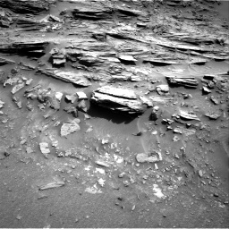 Nasa's Mars rover Curiosity acquired this image using its Right Navigation Camera on Sol 1049, at drive 2248, site number 48
