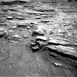 Nasa's Mars rover Curiosity acquired this image using its Right Navigation Camera on Sol 1049, at drive 2260, site number 48