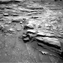 Nasa's Mars rover Curiosity acquired this image using its Right Navigation Camera on Sol 1049, at drive 2266, site number 48