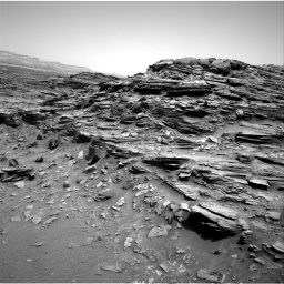 Nasa's Mars rover Curiosity acquired this image using its Right Navigation Camera on Sol 1049, at drive 2272, site number 48