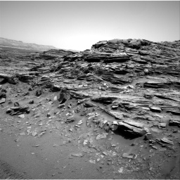 Nasa's Mars rover Curiosity acquired this image using its Right Navigation Camera on Sol 1049, at drive 2278, site number 48