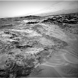 Nasa's Mars rover Curiosity acquired this image using its Right Navigation Camera on Sol 1049, at drive 2296, site number 48