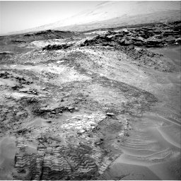 Nasa's Mars rover Curiosity acquired this image using its Right Navigation Camera on Sol 1049, at drive 2302, site number 48