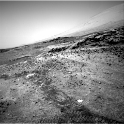 Nasa's Mars rover Curiosity acquired this image using its Right Navigation Camera on Sol 1049, at drive 2368, site number 48