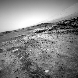 Nasa's Mars rover Curiosity acquired this image using its Right Navigation Camera on Sol 1049, at drive 2374, site number 48