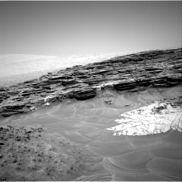 Nasa's Mars rover Curiosity acquired this image using its Right Navigation Camera on Sol 1049, at drive 2386, site number 48