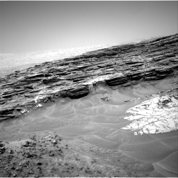 Nasa's Mars rover Curiosity acquired this image using its Right Navigation Camera on Sol 1049, at drive 2410, site number 48