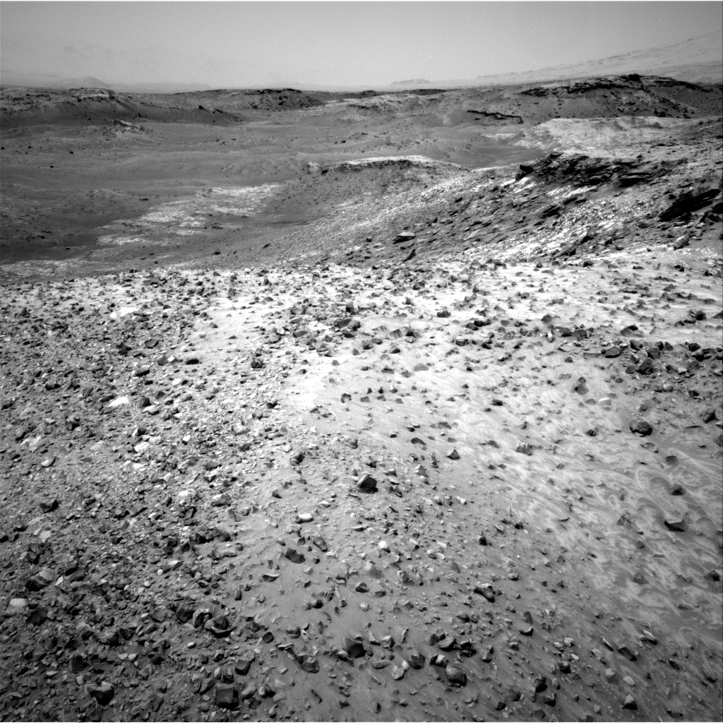 Nasa's Mars rover Curiosity acquired this image using its Right Navigation Camera on Sol 1049, at drive 2416, site number 48
