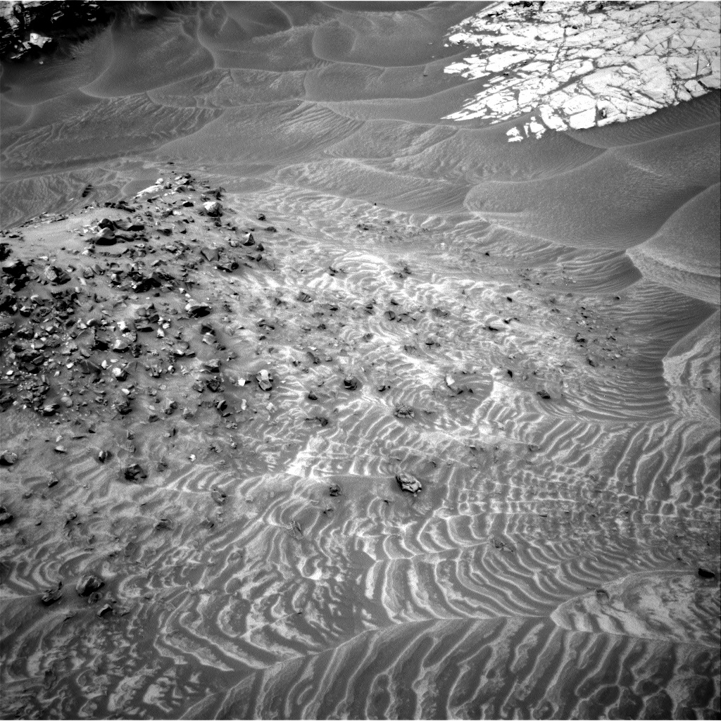 Nasa's Mars rover Curiosity acquired this image using its Right Navigation Camera on Sol 1049, at drive 2422, site number 48