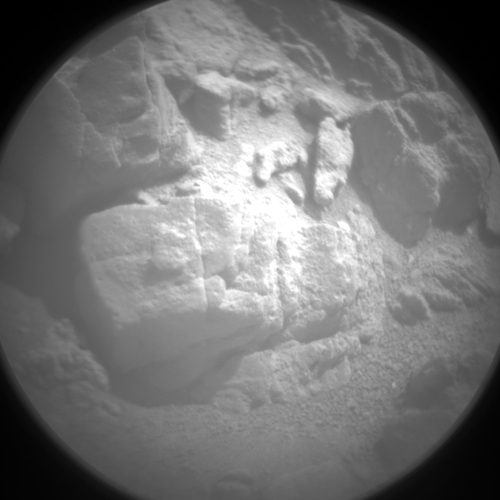 Nasa's Mars rover Curiosity acquired this image using its Chemistry & Camera (ChemCam) on Sol 1051, at drive 2422, site number 48