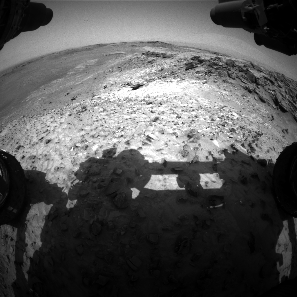 Nasa's Mars rover Curiosity acquired this image using its Front Hazard Avoidance Camera (Front Hazcam) on Sol 1051, at drive 2470, site number 48