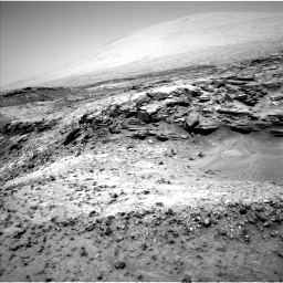 NASA's Mars rover Curiosity acquired this image using its Left Navigation Camera (Navcams) on Sol 1051