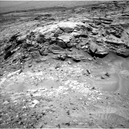 Nasa's Mars rover Curiosity acquired this image using its Left Navigation Camera on Sol 1051, at drive 2458, site number 48