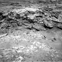 Nasa's Mars rover Curiosity acquired this image using its Left Navigation Camera on Sol 1051, at drive 2464, site number 48