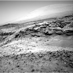 Nasa's Mars rover Curiosity acquired this image using its Right Navigation Camera on Sol 1051, at drive 2422, site number 48
