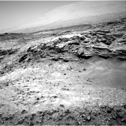 Nasa's Mars rover Curiosity acquired this image using its Right Navigation Camera on Sol 1051, at drive 2440, site number 48