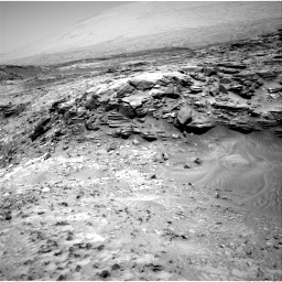 Nasa's Mars rover Curiosity acquired this image using its Right Navigation Camera on Sol 1051, at drive 2446, site number 48