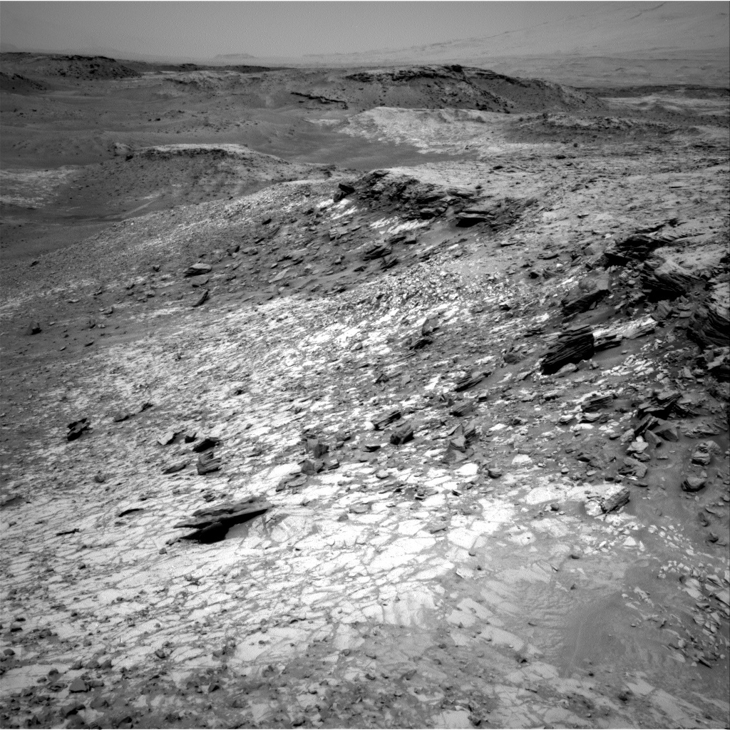 """The """"Lion"""" area shown here has interesting high-silica rocks"""
