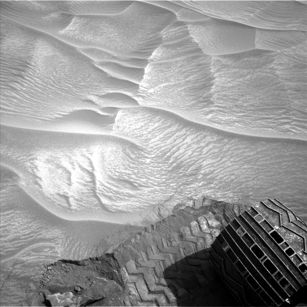 Nasa's Mars rover Curiosity acquired this image using its Left Navigation Camera on Sol 1053, at drive 2518, site number 48
