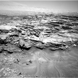 Nasa's Mars rover Curiosity acquired this image using its Right Navigation Camera on Sol 1053, at drive 2476, site number 48