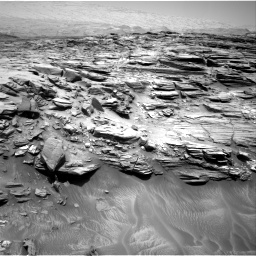 Nasa's Mars rover Curiosity acquired this image using its Right Navigation Camera on Sol 1053, at drive 2488, site number 48